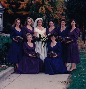 My beautiful bridesmaids.