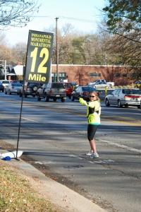 Indianapolis Monumental Marathon, Mile 12