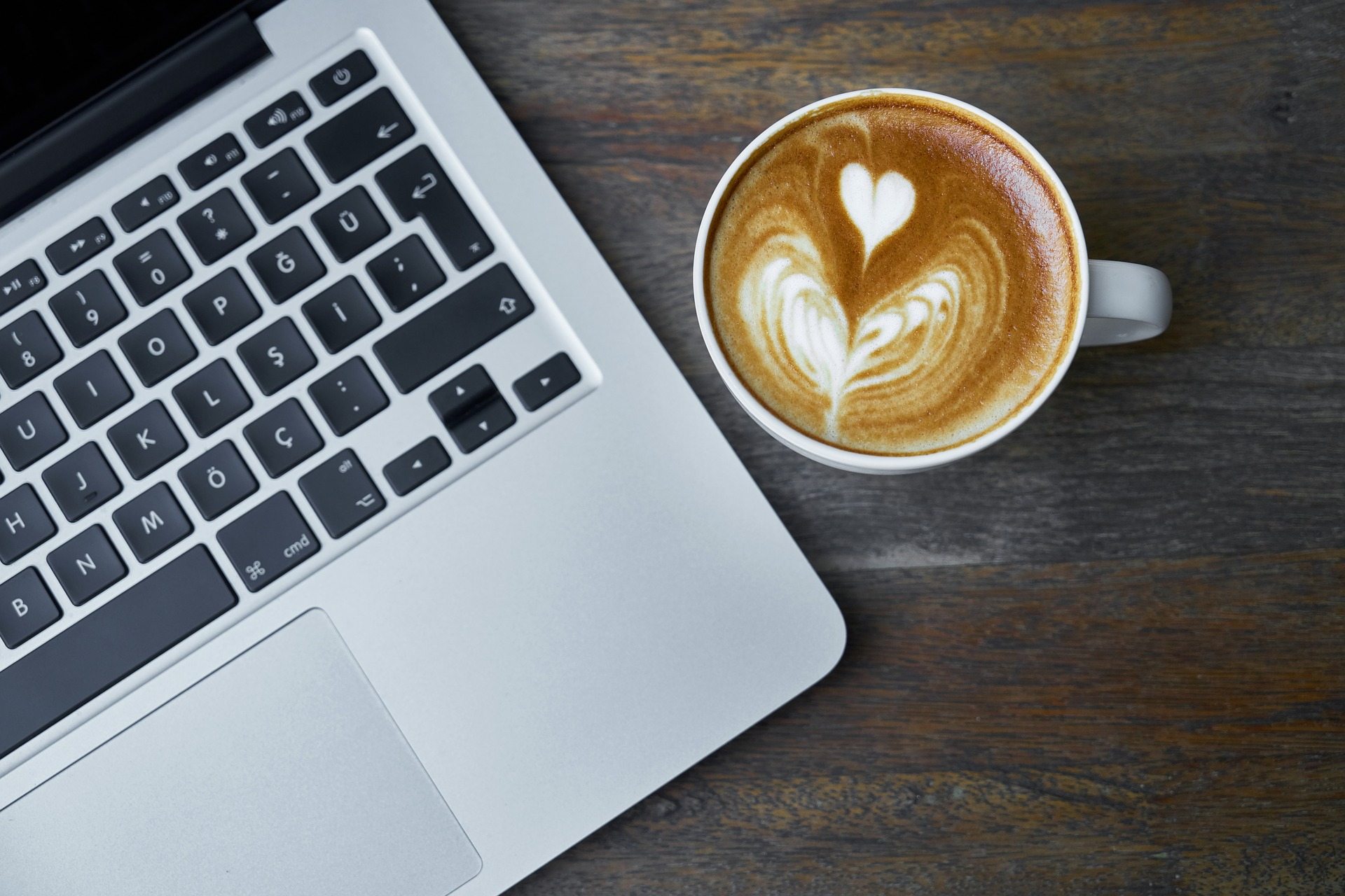 Computer and Coffee