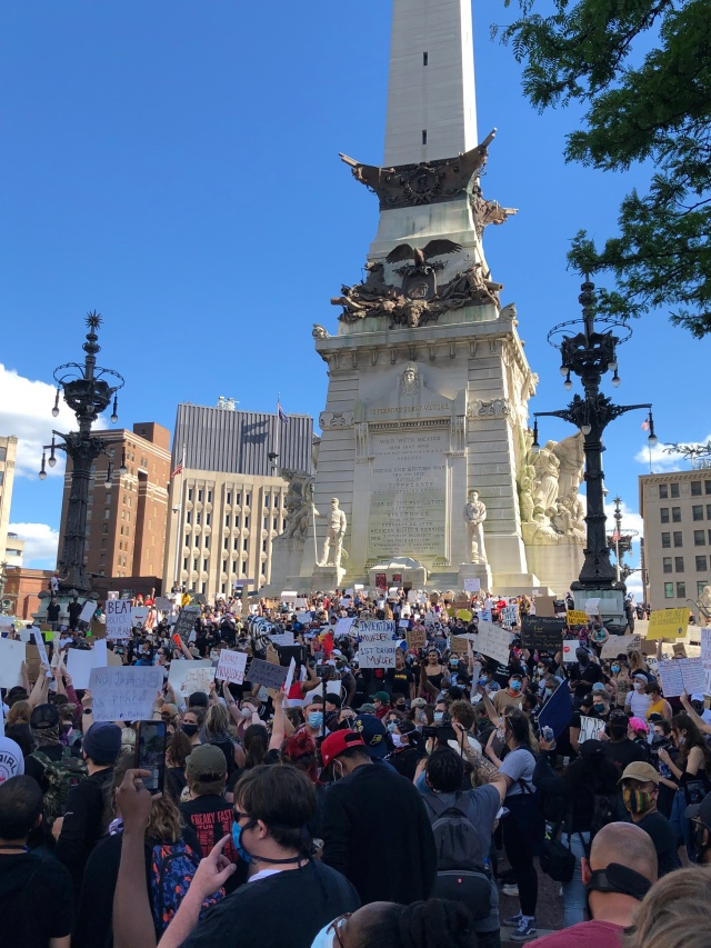 BLM Protest Indy